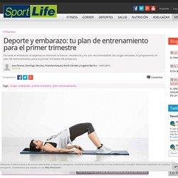 Deporte y embarazo: tu plan de entrenamiento para el primer trimestre