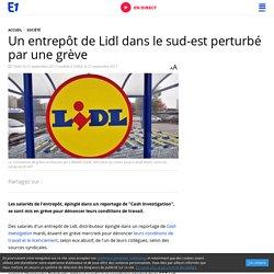 Un entrepôt de Lidl dans le sud-est perturbé par une grève