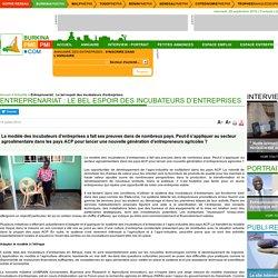 Entreprenariat : Le bel espoir des incubateurs d'entreprises - Burkinapmepmi.com - le portail des PME / PMI au Burkina Faso - 1er quotidien en ligne d'informations économiques et de l'entreprise