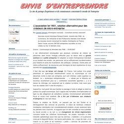 L'association loi 1901, solution alternative pour des créateurs de micro-entreprise