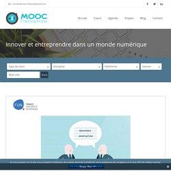 MOOC Innover et entreprendre dans un monde numérique