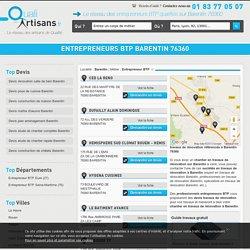 Entrepreneur BTP Barentin 76360
