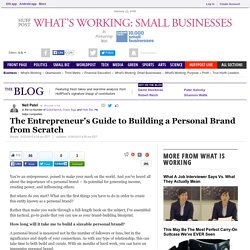The Entrepreneur's Guide to Building a Personal Brand from Scratch
