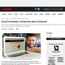 De prof de physique à entrepreneur grâce à Classcraft