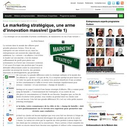 marketing, stratégique, strategie, mise en marché, entrepreneur, entrepreneuriat