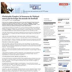 Christophe Fargier, le brasseur de Ninkasi sauvé par la Coupe du monde de football