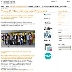 Young Creative Entrepreneur Programme