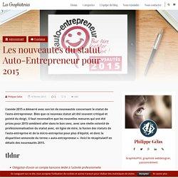 Les nouveautés du statut Auto-Entrepreneur pour 2015