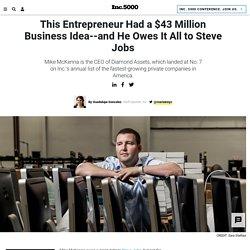 This Entrepreneur Had a $43 Million Business Idea