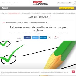 Auto-entrepreneur: six pièges à éviter