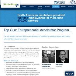 Top Gun: Entrepreneurial Accelerator Program