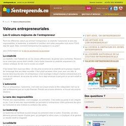 Les Valeurs Entrepreneuriales