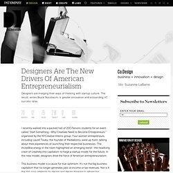 Designers Are The New Drivers Of American Entrepreneurialism | Co. Design