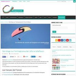 Des blogs sur l'entrepreneuriat