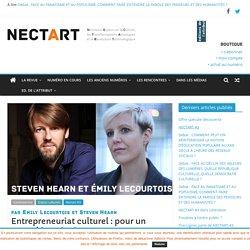 Entrepreneuriat culturel : pour un nouvel imaginaire