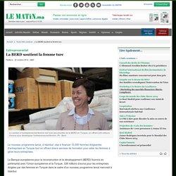 Entrepreneuriat : La BERD soutient la femme turc