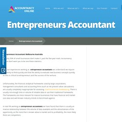 Entrepreneurs Accountant