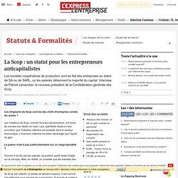 La Scop : un statut pour les entrepreneurs anticapitalistes