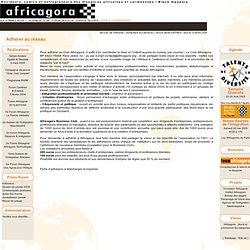 Adhérer au réseau Africagora - Décideurs, cadres et entrepreneurs des diasporas africaines et caribéennes / Black diaspora