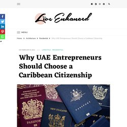 Why UAE Entrepreneurs Should Choose a Caribbean Citizenship