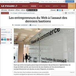 Les entrepreneurs du Web à l'assaut des derniers bastions