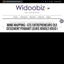 Mind mapping : ces entrepreneurs qui dessinent pendant leurs rendez-vous
