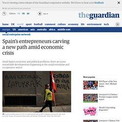 Los empresarios españoles tallar un nuevo camino en medio de la crisis económica