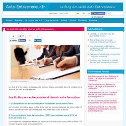 Le droit à la formation pour les auto-entrepreneurs