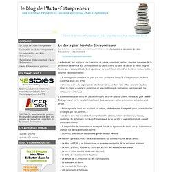 Auto entreprise rahan84 pearltrees - Chambre de commerce auto entrepreneur ...