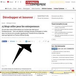 25 blogs utiles pour les entrepreneurs