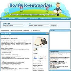 FLS GESTION PAYE - L'annuaire des Auto-Entrepreneurs - Nos Auto-Entreprises