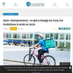 Auto-entrepreneurs : ce qui a changé en 2019, les évolutions à venir en 2020