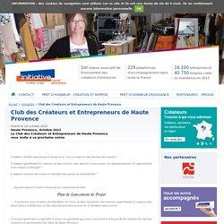 Club des Créateurs et Entrepreneurs de Haute Provence - Actualités - Initiative Haute Provence