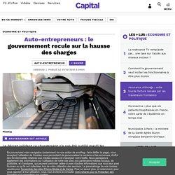 Auto-entrepreneurs : le gouvernement recule sur la hausse des charges