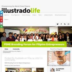 FEME Branding Forum for Filipino Entrepreneurs - Illustrado Magazine - Filipino Abroad