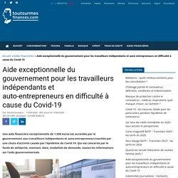 Aide indépendants et auto-entrepreneurs coronavirus : montant, conditions