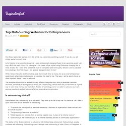 Top Outsourcing Websites for Entrepreneurs