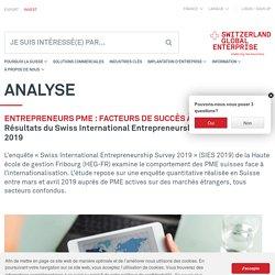 Entrepreneurs PME : facteurs de succès à l'international