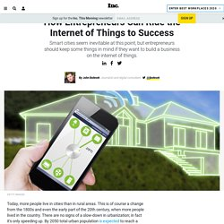 How Entrepreneurs Can Ride the Internet of Things to Success
