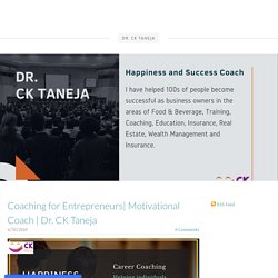 Coaching forEntrepreneurs