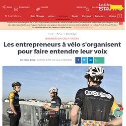 Les entrepreneurs à vélo s'organisent pour faire entendre leur voix