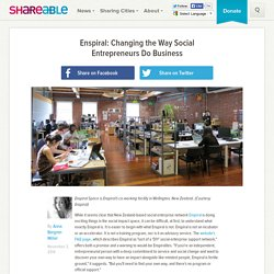 Enspiral: Changing the Way Social Entrepreneurs Do Business