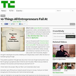 10 Things All Entrepreneurs Fail At