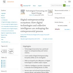 Digital entrepreneurship ecosystem: How digital technologies and collective intelligence are reshaping the entrepreneurial process