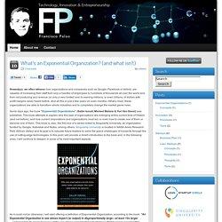 Lean Startups & Entrepreneurship by Francisco Palao