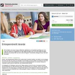 Entreprenöriellt lärande - Teknologisk Institut