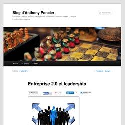 Entreprise 2.0 et leadership