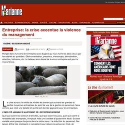 Entreprise: la crise accentue la violence du management