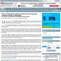 France: l'Assemblée nationale choisit la base de données Entreprise NoSQL de MarkLogic pour rendre accessibles plus de 800 000 documents ouverts
