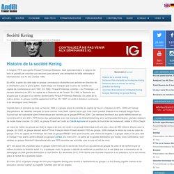 Entreprise Kering : Chiffre d'affaires et résultats de l'action Kering